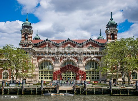 New York City Ellis Island Registration Building