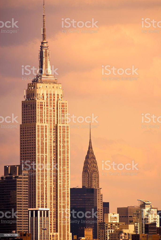 New York City NYC Cityscape stock photo