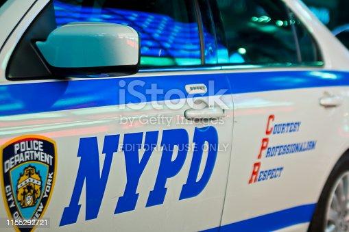 istock New York City, Nyc, United States: August 2012 1155292721