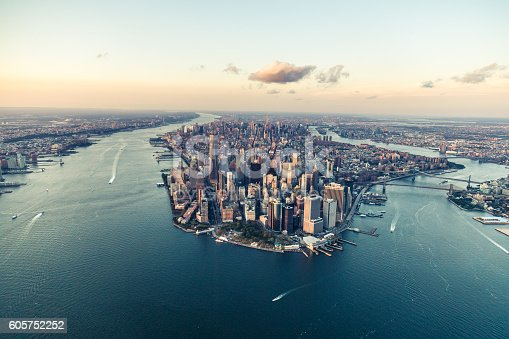 istock New York, City of Dreams, at Dusk 605752252