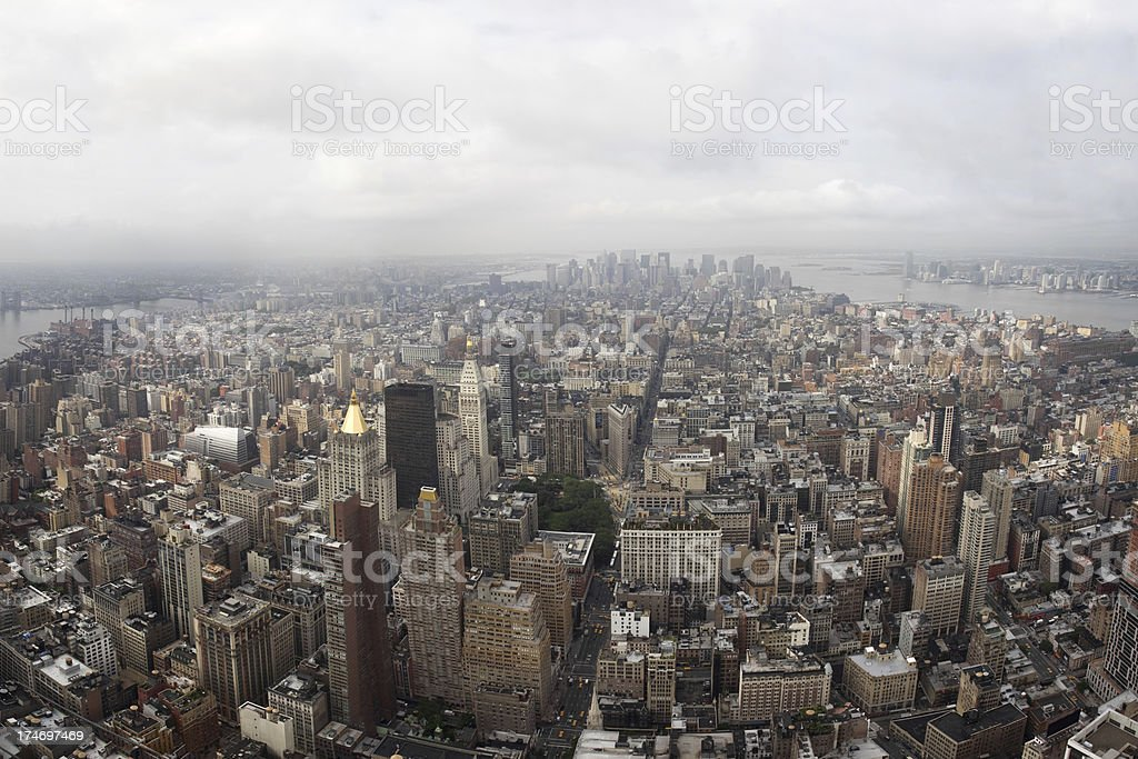 New York City Panorama, Lower Manhattan (XXXL) royalty-free stock photo
