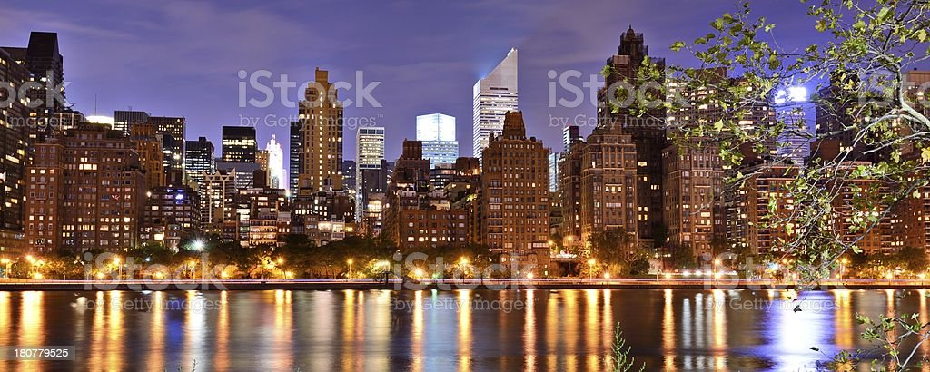 New York City Panorama royalty-free stock photo