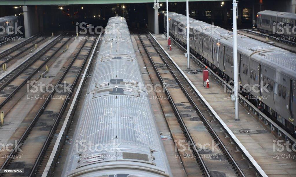 New York City Penn Station royalty-free stock photo