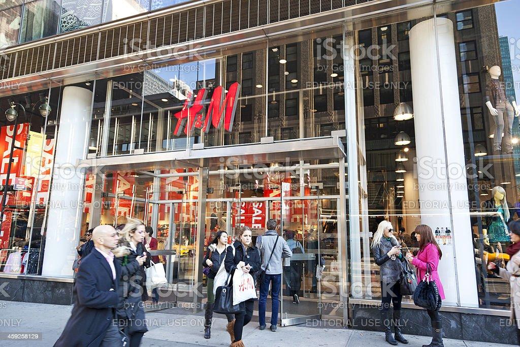 H&M New York City # 1 royalty-free stock photo