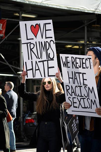 нью-йорк  - donald trump us president стоковые фото и изображения