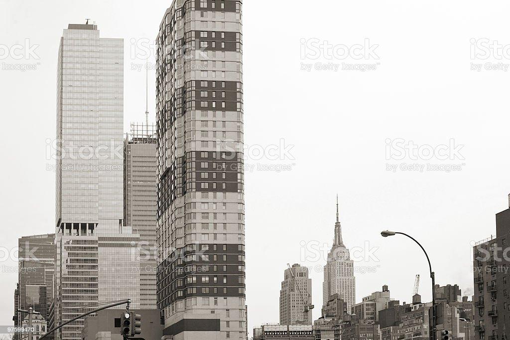 La ville de New York photo libre de droits