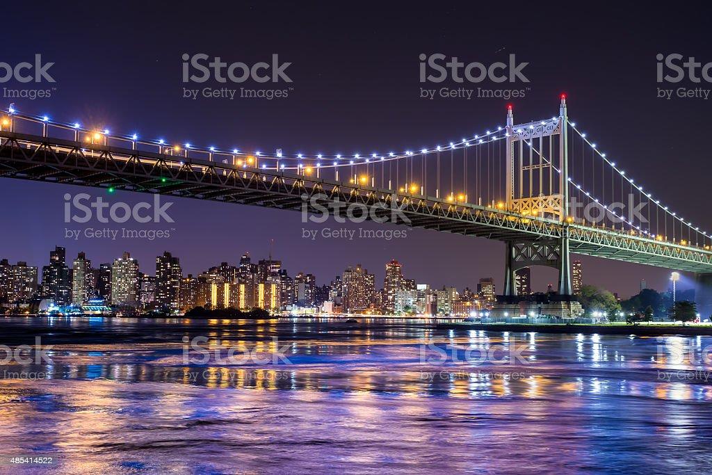 New York City Queensboro Bridge stock photo