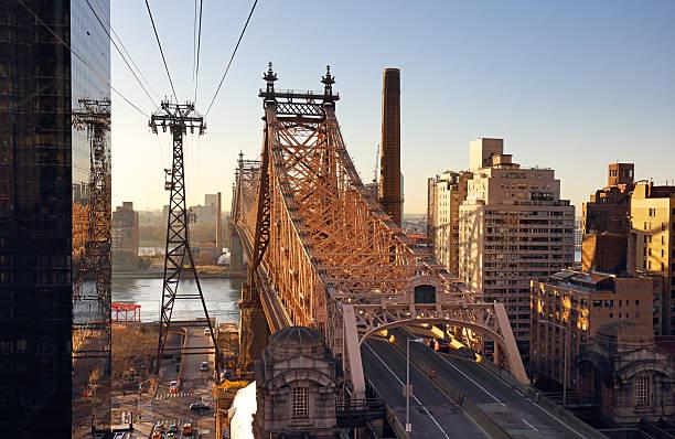 new york city, queensboro brücke, usa - desmond koch stock-fotos und bilder