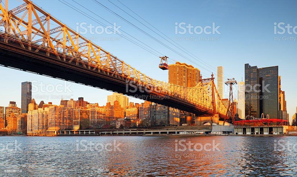 New York City, Queensboro Bridge, USA stock photo