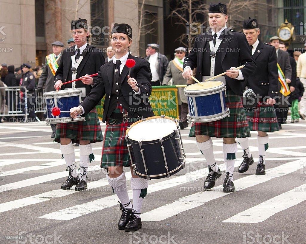 New York City Saint Patrick's Day Parade royalty-free stock photo