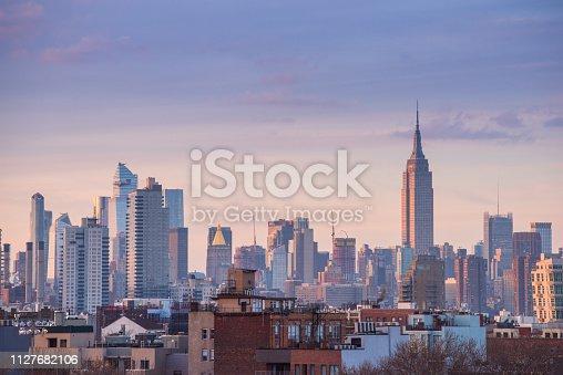 Empire State Building, New York City, New York State, Urban Skyline, City