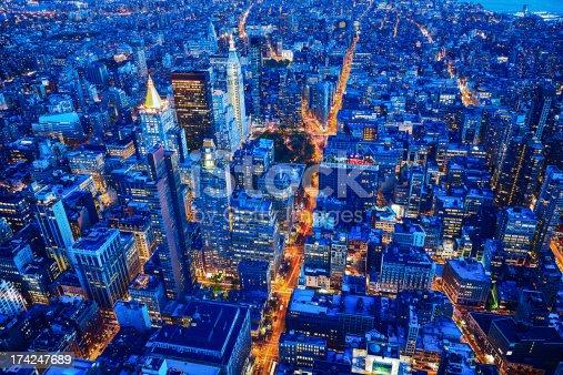 istock New York City skyline, Manhattan, USA 174247689