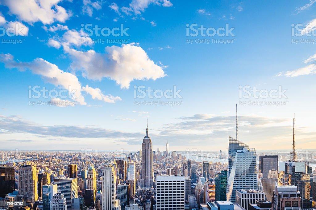 Von New York City Skyline-Midtown und Empire State Building – Foto