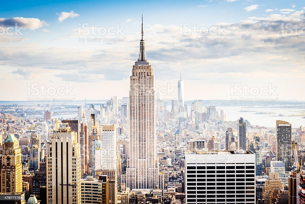 Von New York City Skyline-Midtown und Empire State Building – Foto