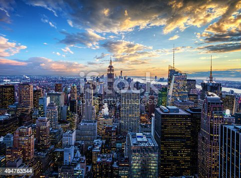 istock New York City Skyline - Midtown and Empire State Building 494763344