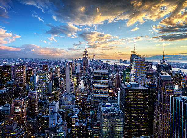La ville de New York-Midtown et de l'Empire State Building - Photo