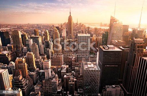 istock New York City skyline 482664190