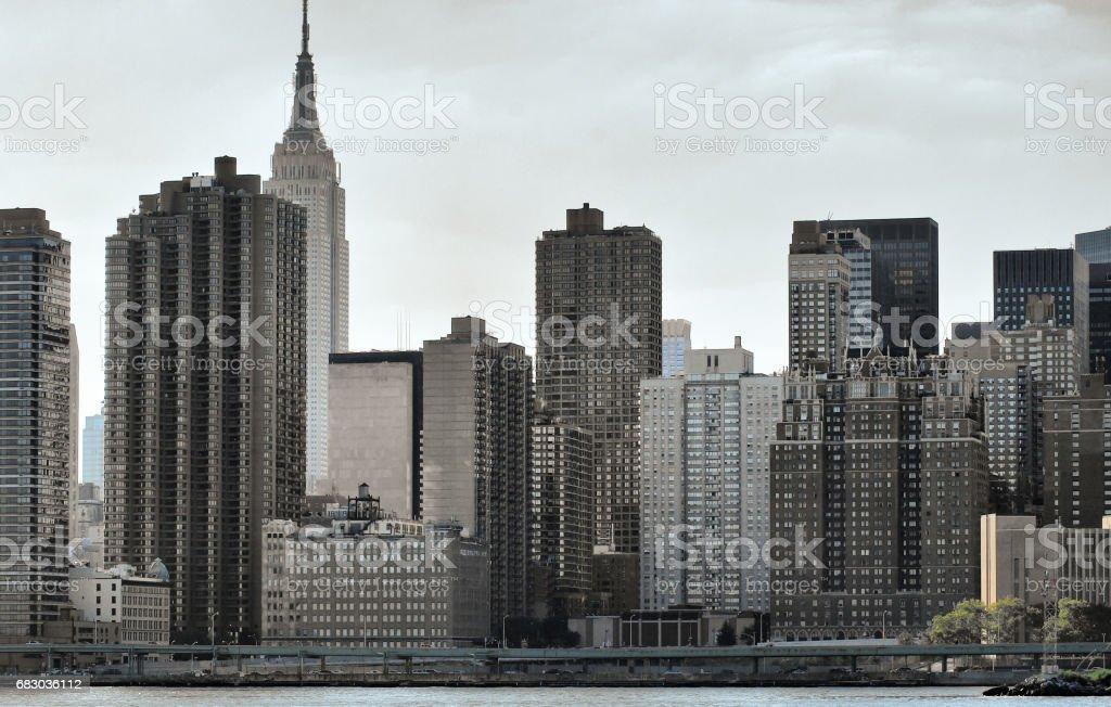 New York City skyline foto de stock royalty-free