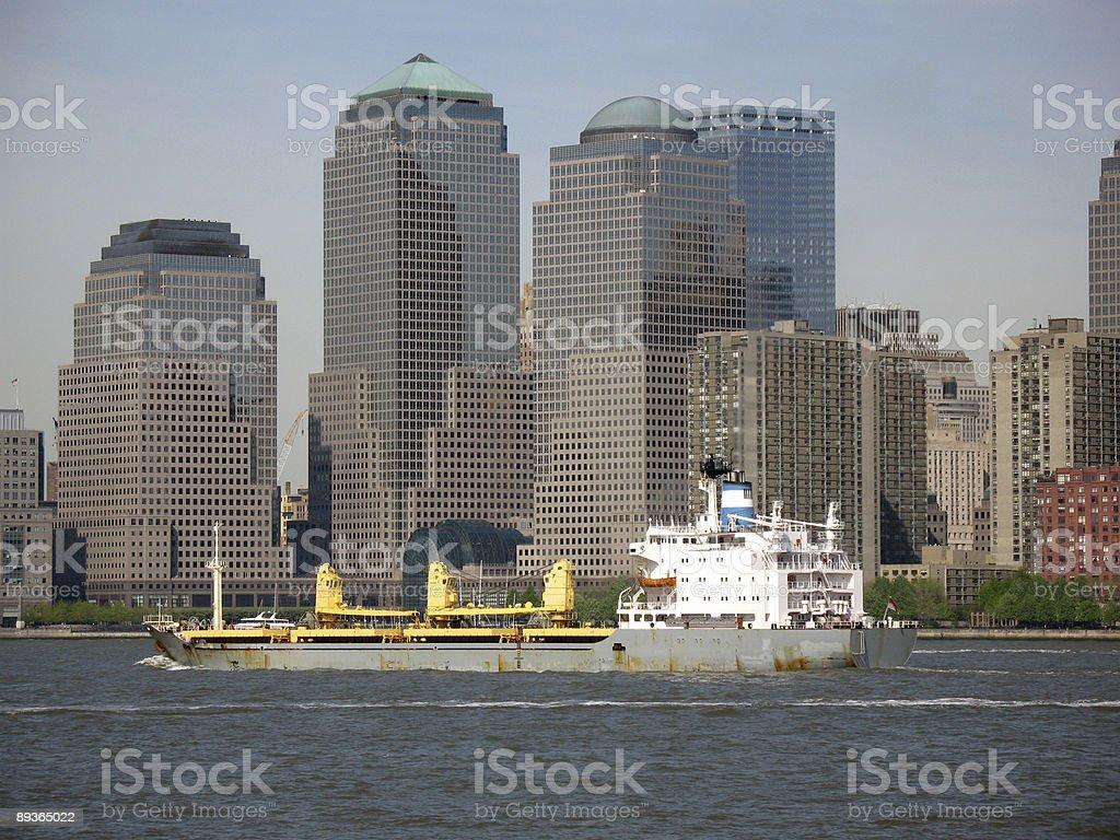 New York City Skyline royalty free stockfoto