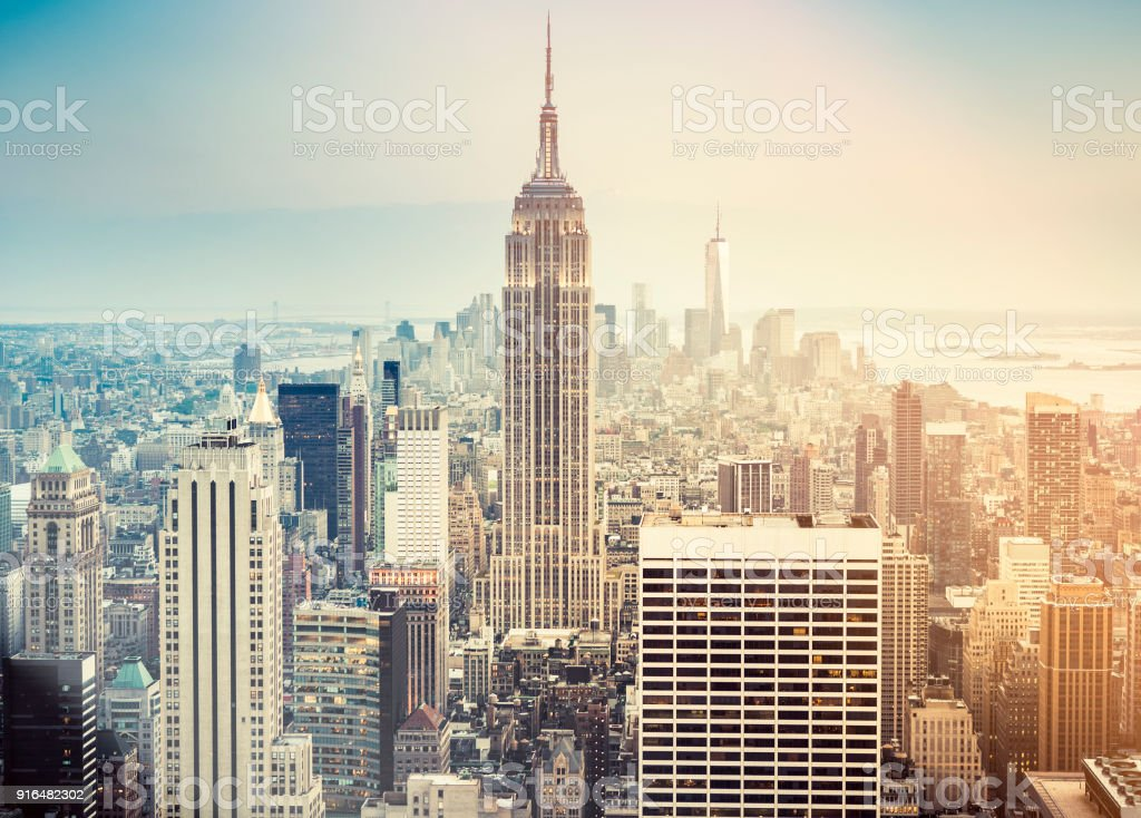 skyline von New york city – Foto