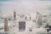 istock New york city skyline with clouds 1183062232