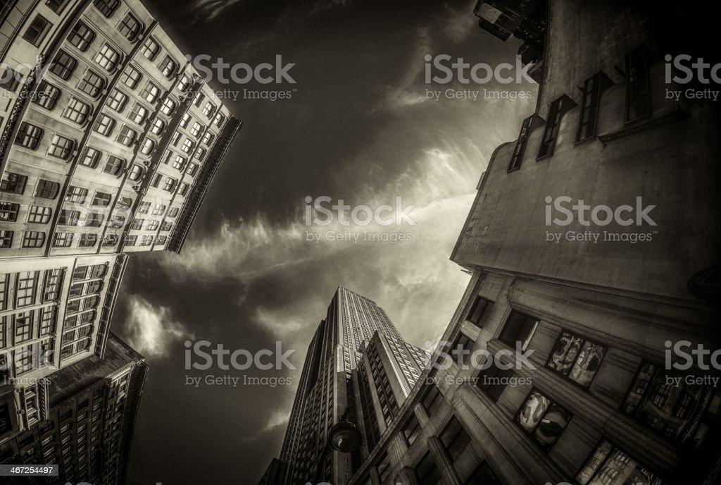 New York City Skyscrapers royalty-free stock photo