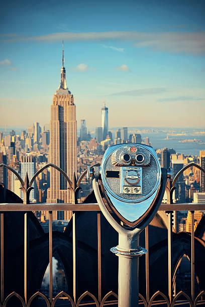 Wolkenkratzer in New York City – Foto