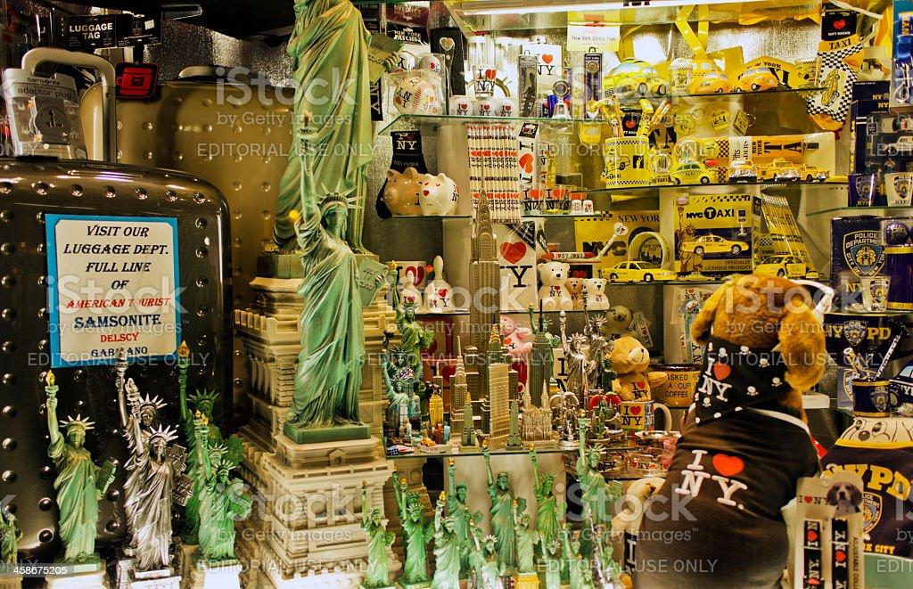 New York City souvenirs royalty-free stock photo
