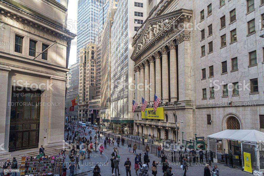 New York City Stock Exchange stock photo