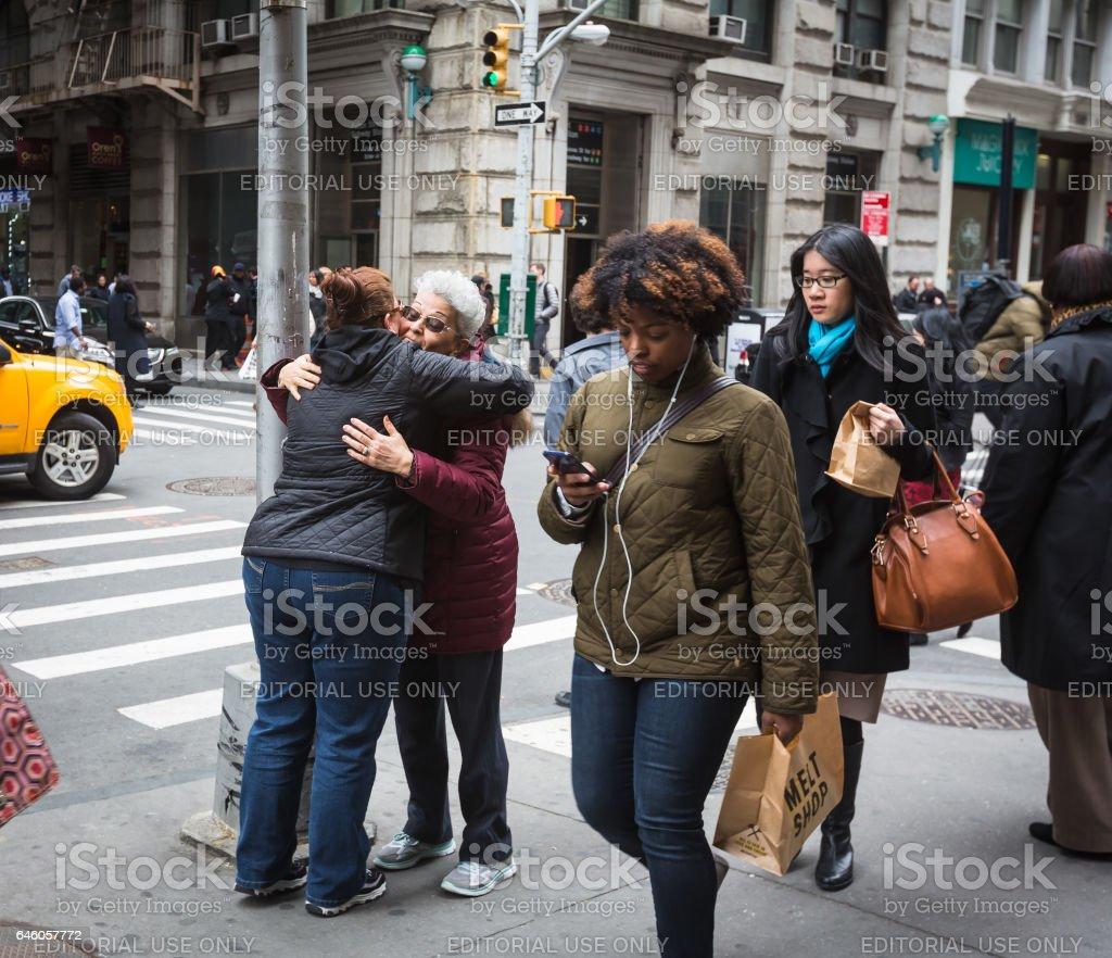 New York City Street Scene Stock Photo - Download Image Now