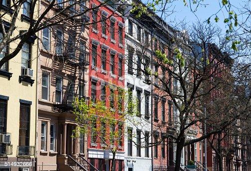 istock New York City Street Scene with Apartment Buildings 514932666
