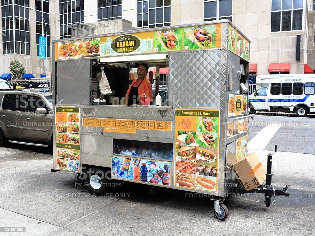 New York City Street Vendor stock photo