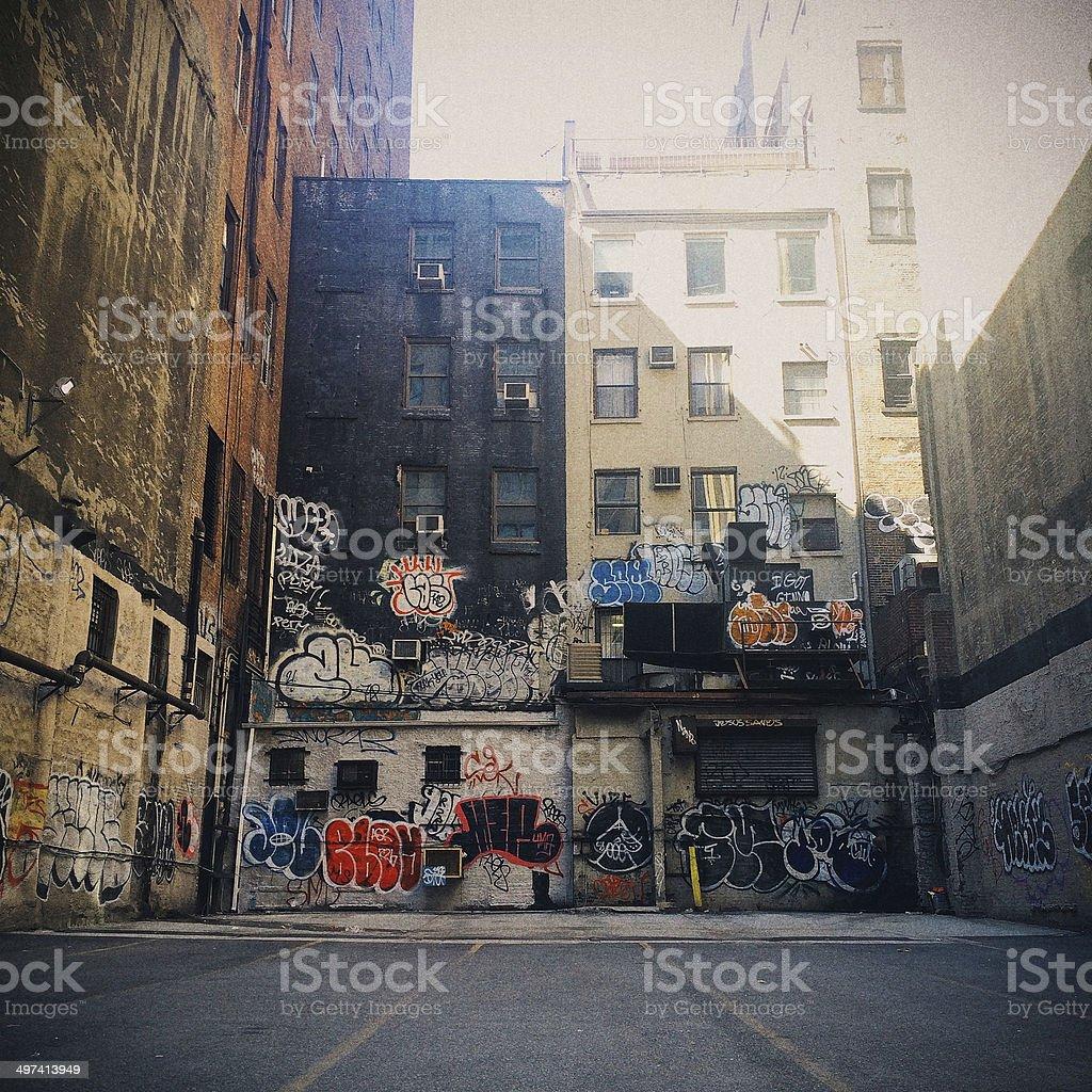 New York City Streets stock photo