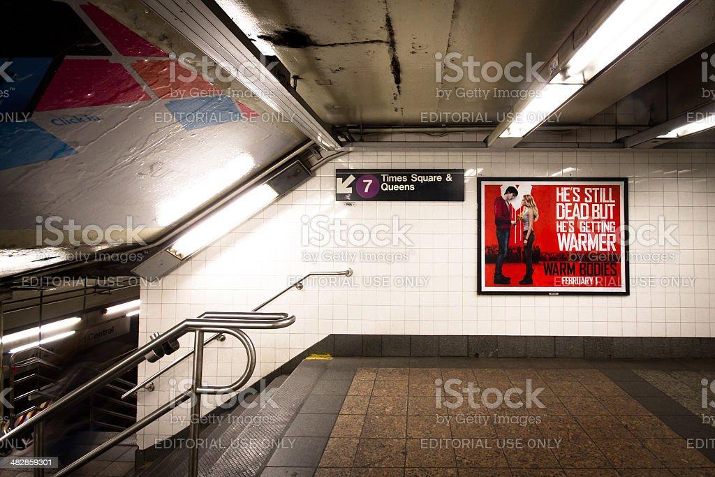 New York City Subway royalty-free stock photo
