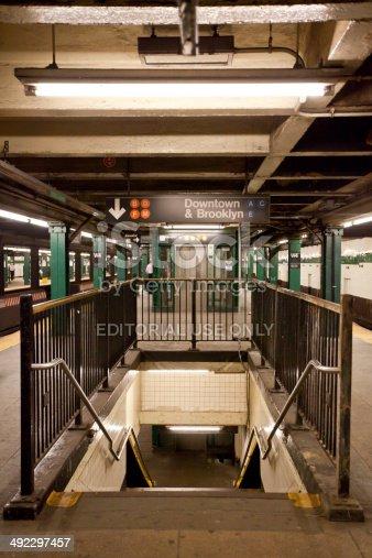 istock New York City subway station 492297457