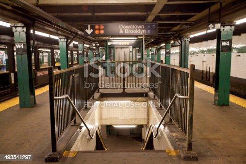 istock New York City subway station 493541297