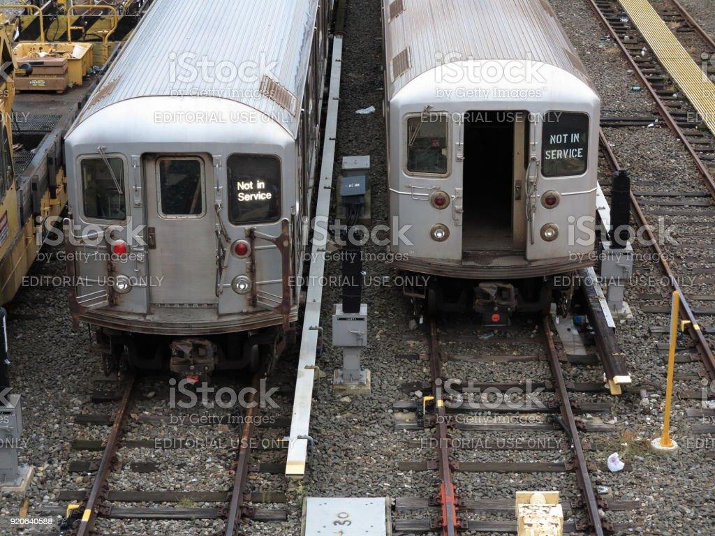 New York City Subway Trains