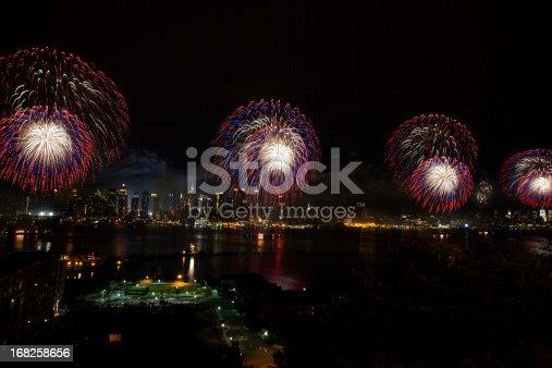 istock New York City Syncronized Fireworks 168258656