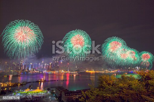 istock New York City Syncronized Fireworks 532397576