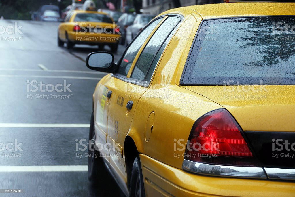 New York City Taxi royalty-free stock photo