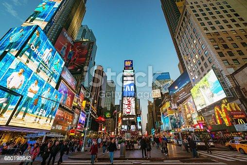 istock New York City Times Square 680198642