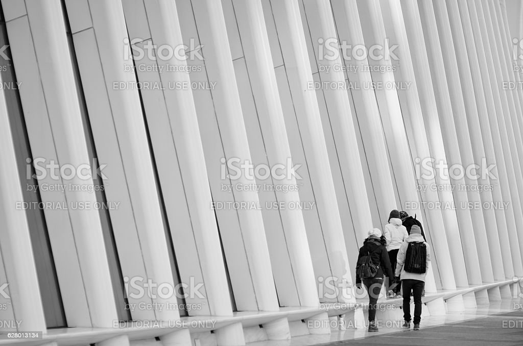 New York City Tourists stock photo