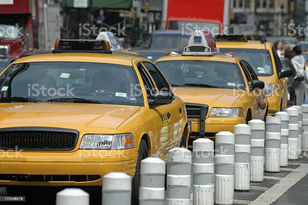 New York City Traffic royalty-free stock photo