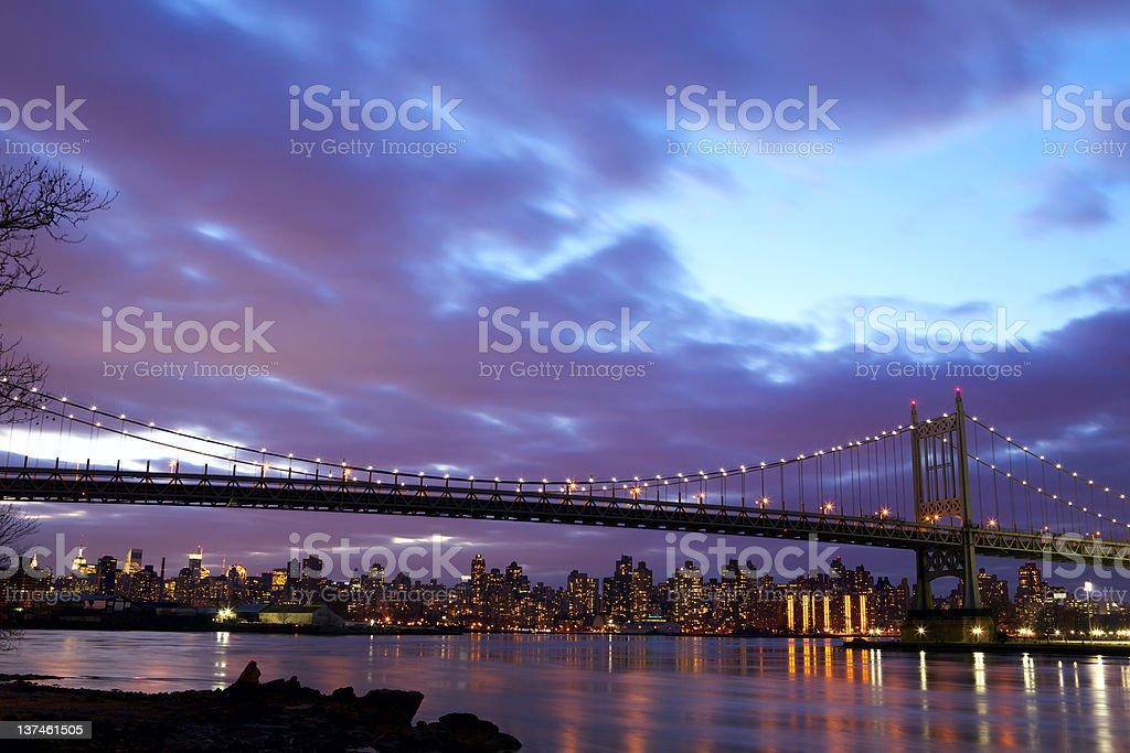 New York City Triboro Bridge stock photo