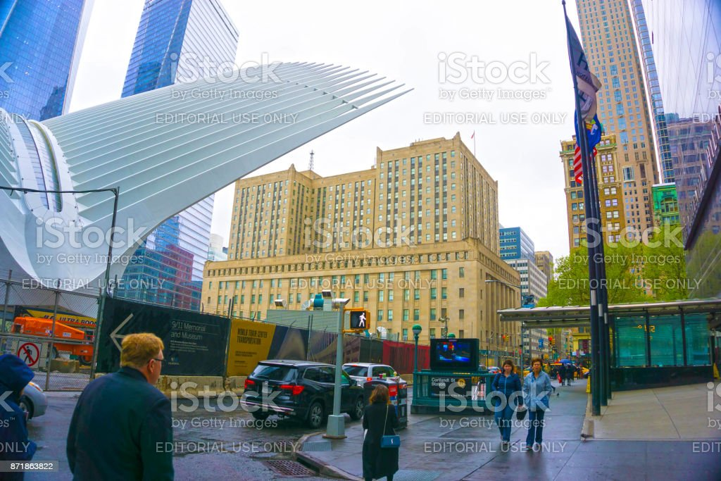 53049dfccde8 New York City United States Of America May 012016 The Oculus In The ...