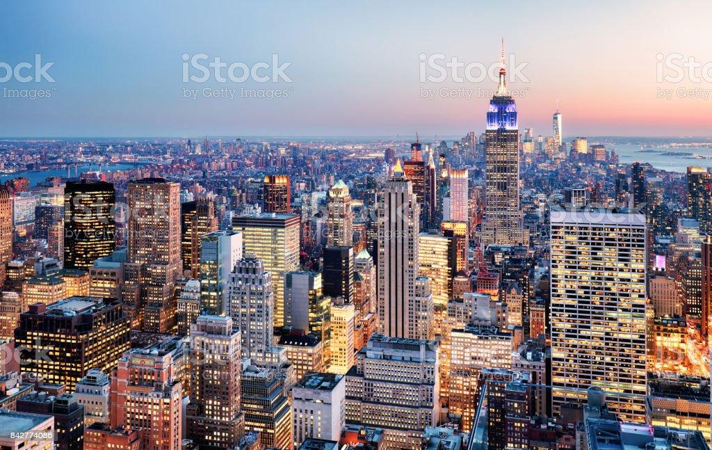 La ville de New York, États-Unis  - Photo de Affaires libre de droits