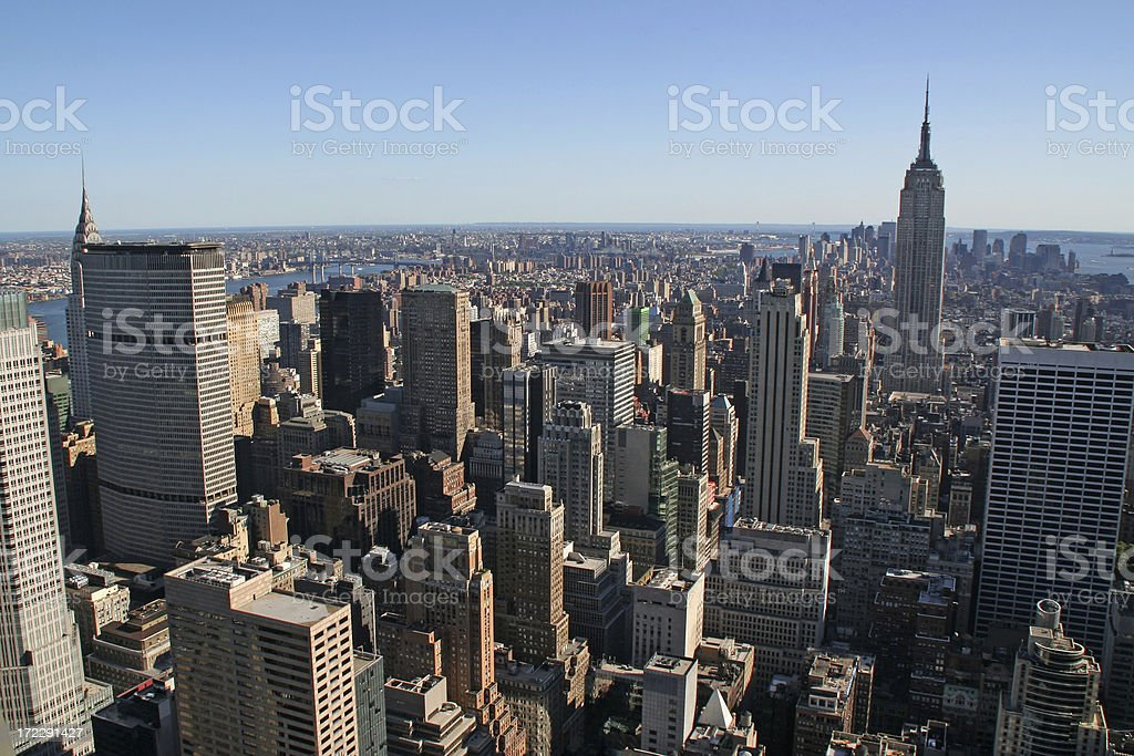 New York City view # 5 royalty-free stock photo