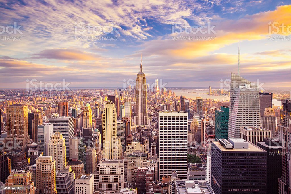 New York City View stock photo
