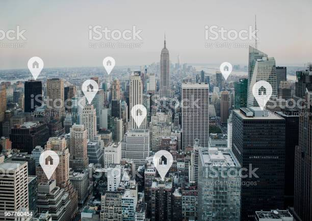 New york city with real estate price tag picture id957760454?b=1&k=6&m=957760454&s=612x612&h=enfjscwotknwuihvkosci62orbwh waxhviycpvszjg=