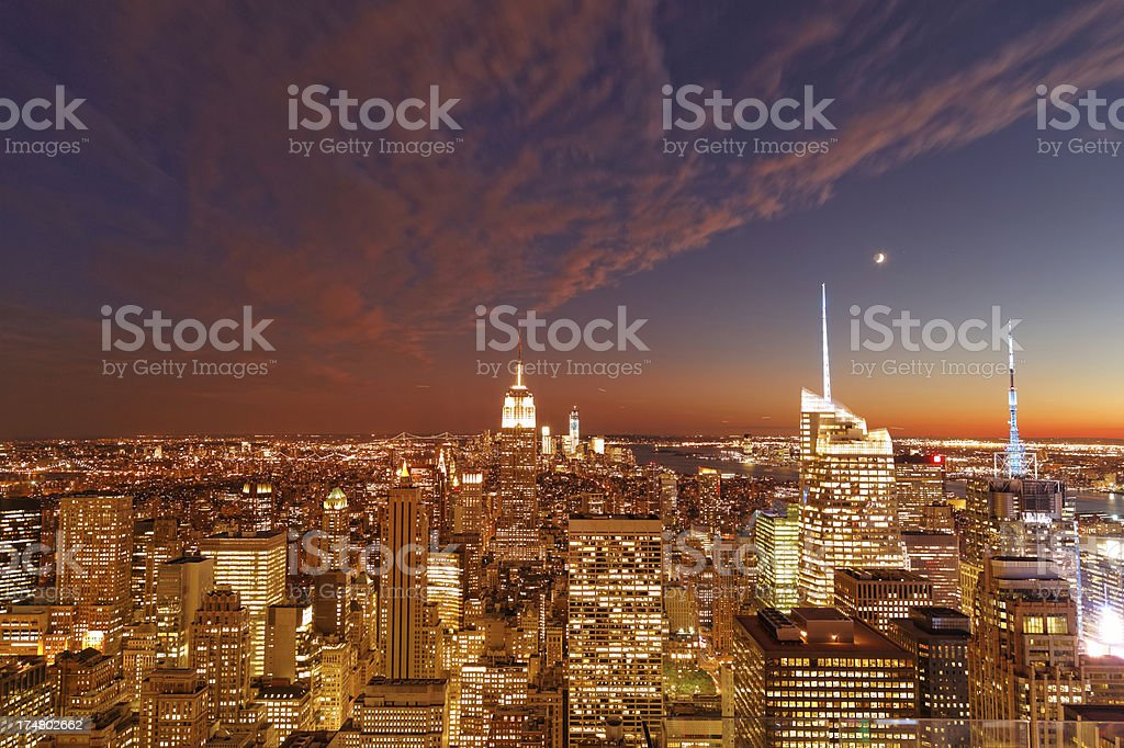 New York city XXXL stock photo